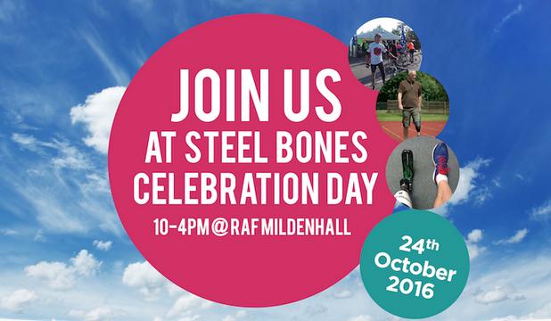 Steel Bones Celebration Day on 24 Oct