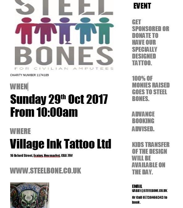 Get Inked For Steel Bones