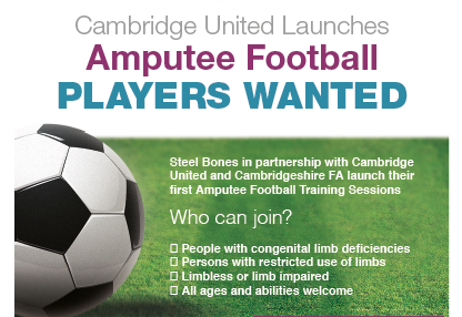 Cambridge United Launches Amputee Football Club