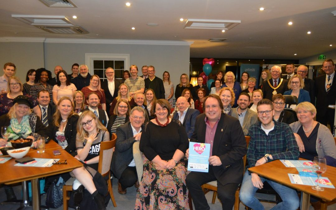 Steel Bones UK nominated as  'Charity of the Year' at Ely Hero Awards 2018