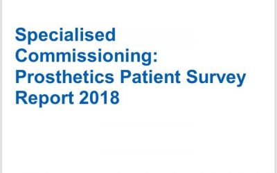 UPDATE NHS ENGLAND PROSTHETIC REVIEW