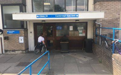 Parking at Addenbrookes Hospital