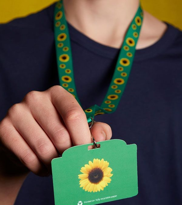 Hidden Disabilities Sunflower Lanyard