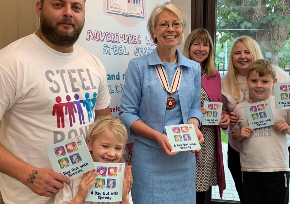 BOOK LAUNCH SUCCESS FOR LOCAL AMPUTEE CHARITY