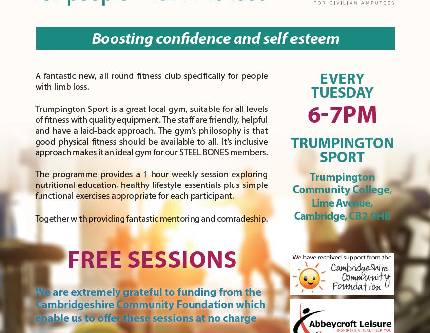Cambridge Fitness Club Launches