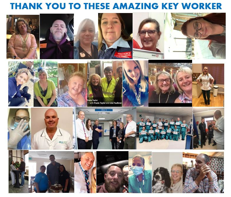 THANK YOU TO OUR KEY WORKERS