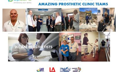 THANK YOU TO OUR AMAZING PROSTHETIC CLINIC TEAMS