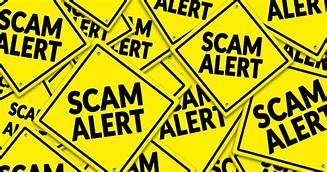 Please be aware of scams